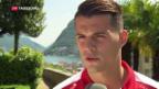 Video «Granit Xhaka wechselt zum FC Arsenal» abspielen