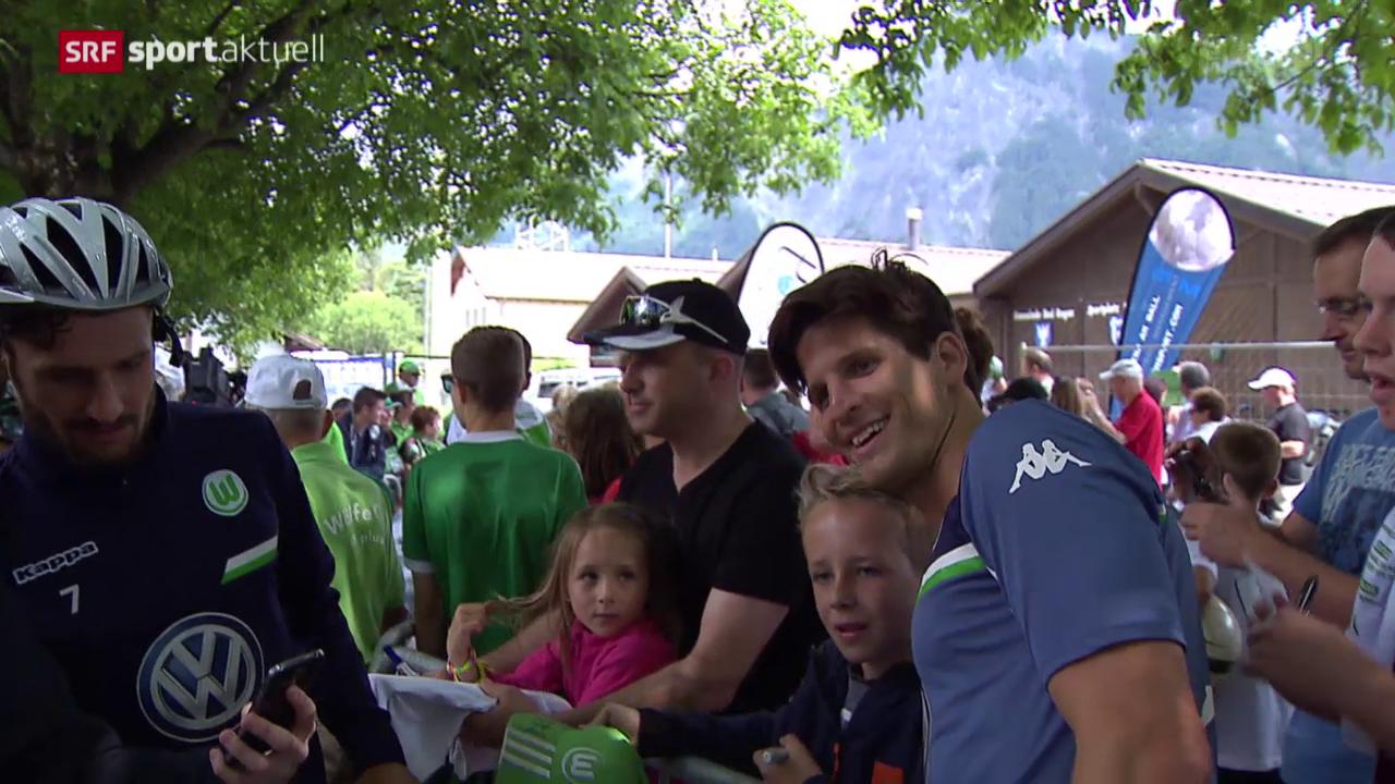 Fussball: Klose mit Wolfsburg in Bad Ragaz