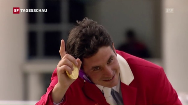 Video «Olympia 2012: Guerdat holt die Goldmedaille im Einzelspringen» abspielen