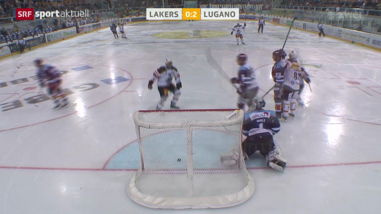 Eishockey: NLA, Rapperswil-Jona Lakers - Lugano