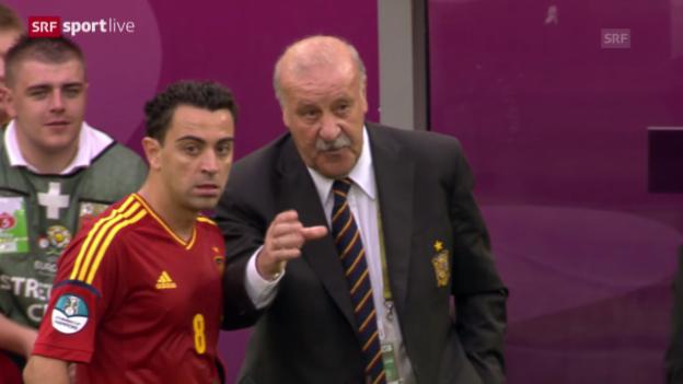 Video «Fussball: Xavi beendet seine Nati-Karriere» abspielen