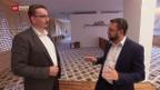 Video «Ehrung für Zürcher Imam und Zürcher Rabbiner» abspielen