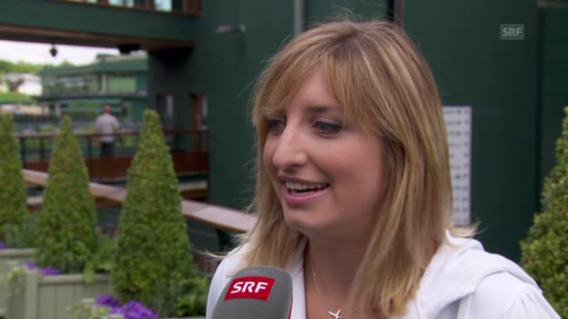 Video «Bacsinszky über Wimbledon» abspielen