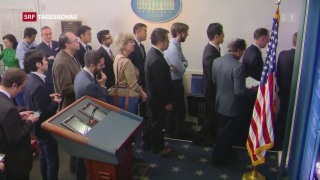 Video «Donald Trump schliesst Medien aus» abspielen