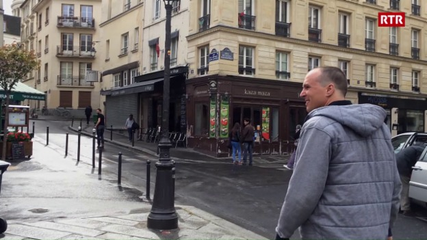 Laschar ir video «Rolf Caflisch a Paris»