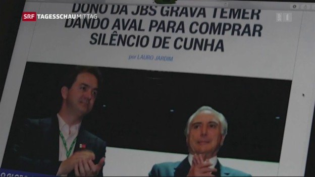 Video «Vorwürfe gegen Michel Temer» abspielen