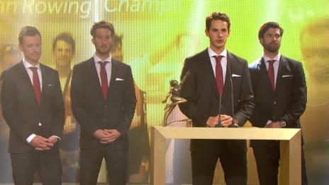 Video «Sports Awards: Team des Jahres» abspielen
