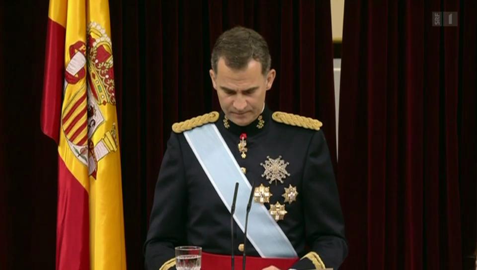 Felipe wird König