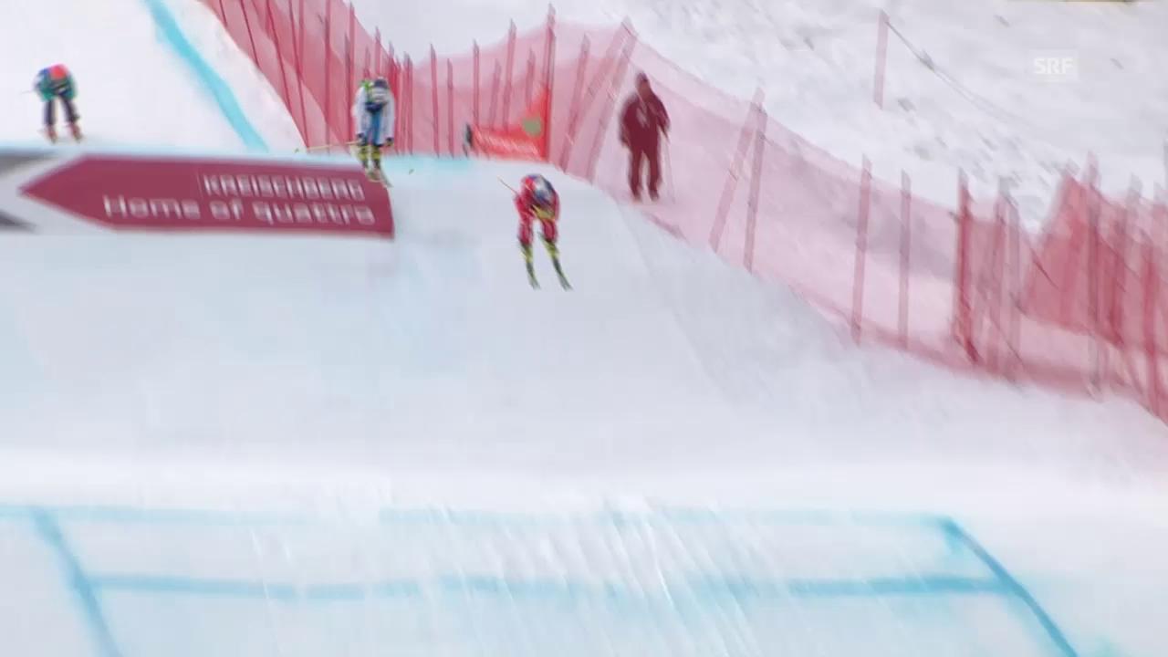 Skicross: WM in Kreischberg, Halbfinal von Fanny Smith