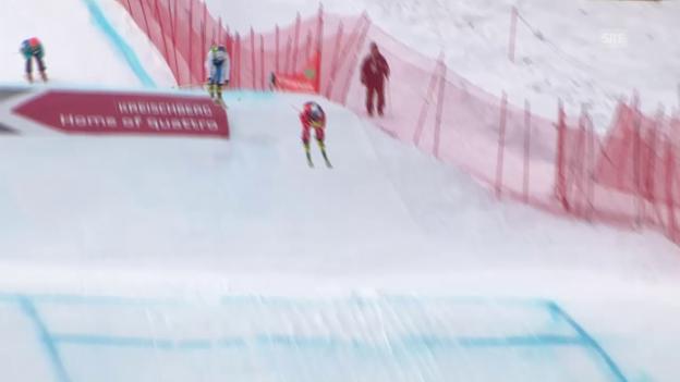 Video «Skicross: WM in Kreischberg, Halbfinal von Fanny Smith» abspielen