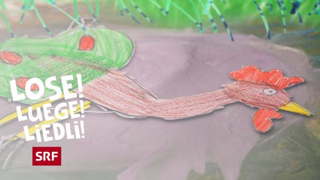 Video ««Lose! Luege! Liedli!»: Oisere Gockel de isch tot» abspielen