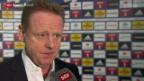 Video «Fussball: Der FC Luzern präsentiert Rolf Fringer als Sportchef» abspielen
