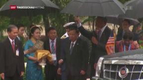 Video «Philippinischer Präsident Dutérte beleidigt Obama» abspielen