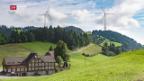 Video «Windprojekt spaltet Bevölkerung» abspielen