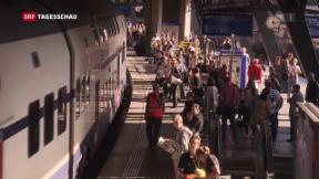 Video «Verkehrswachstum bringt Strasse und Schiene an ihre Grenzen» abspielen
