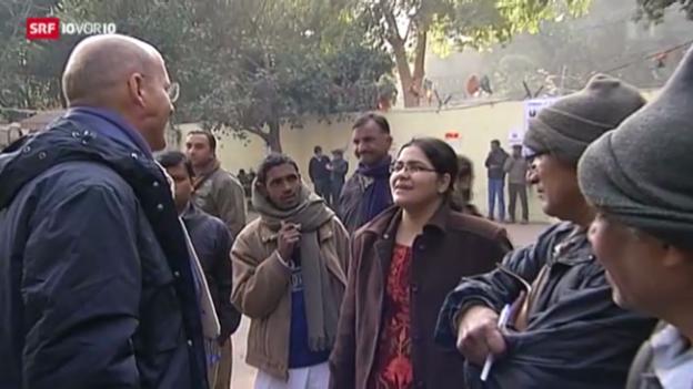 Video «Indien: «Frauen behandelt wie Freiwild»» abspielen