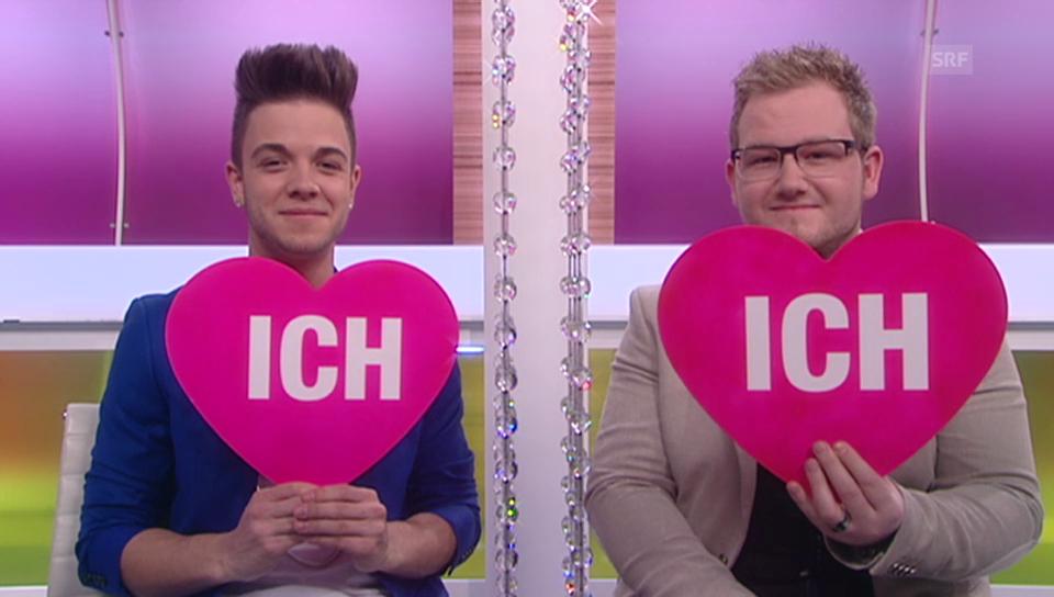 «Ich oder Du»: Luca Hänni und Cyril Schmid