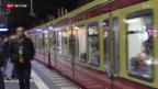 Video ««10vor10»-Weihnachtsserie: Bahnhof Zoo, Berlin» abspielen
