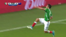 Video «Wood verpasst das 2:0, Jimenez gleicht aus» abspielen
