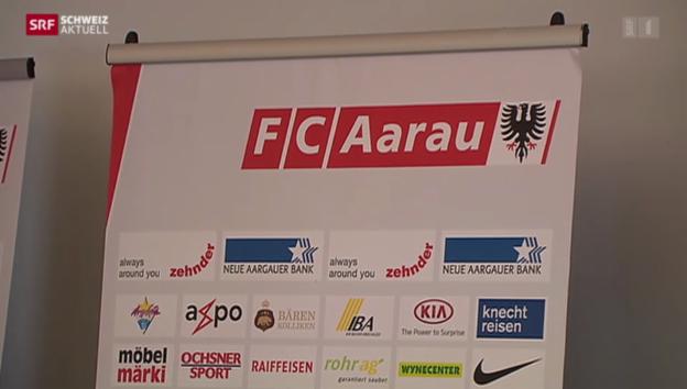 Video «FC Aarau zittert um Lizenz» abspielen