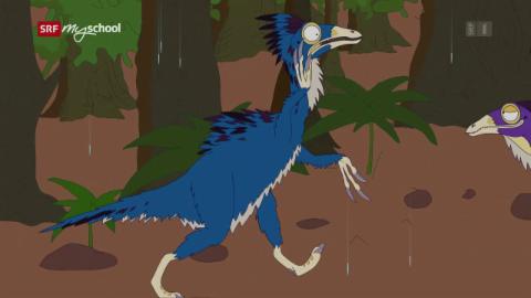 Ralph und die Dinosaurier: Beipiaosaurus (2/26)