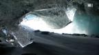 Video «Neue Gletscherhöhle im Val Roseg» abspielen