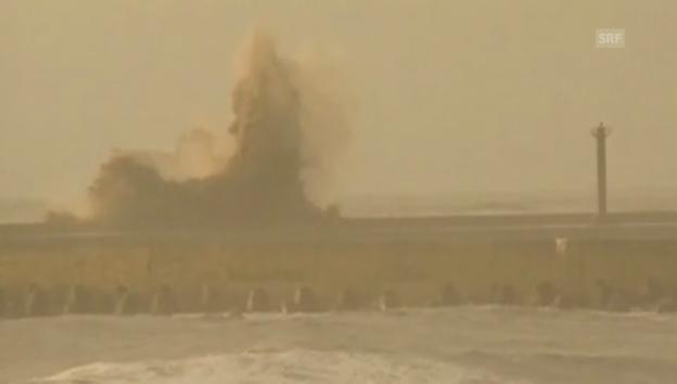 Video «Taifun trifft China (unkomm.)» abspielen
