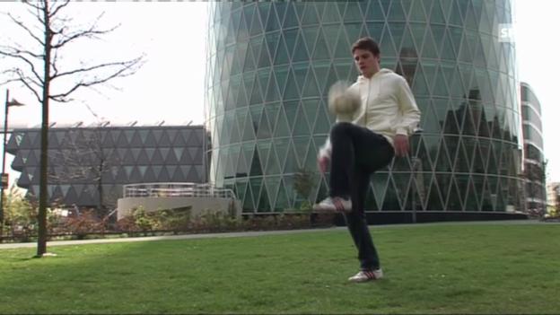 Video «Fussball: Porträt von Pirmin Schwegler» abspielen