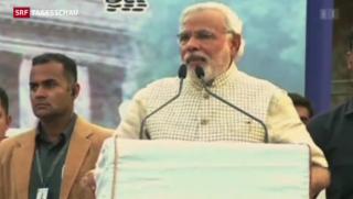 Video «Machtwechsel in Indien» abspielen