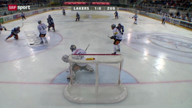 Video «Lakers - Zug» abspielen