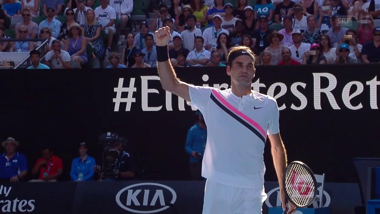 Zusammenfassung Federer - Fucsovics