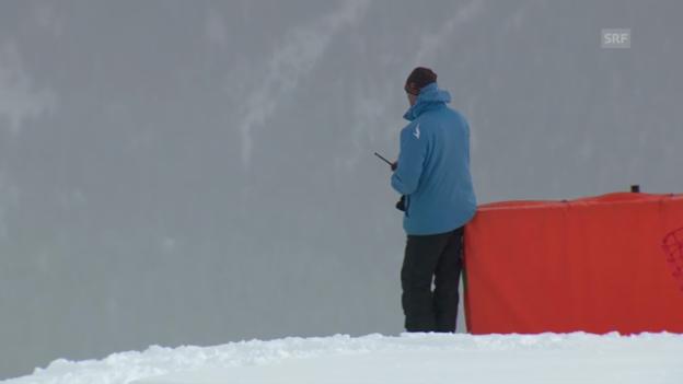 Video «Ski: Abfahrt Männer, zu viel Nebel in St. Moritz («sportlive», 01.02.2014)» abspielen