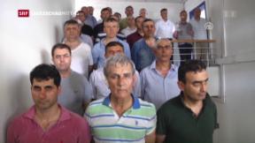 Video «Gnadenloses Durchgreifen nach Putschversuch» abspielen