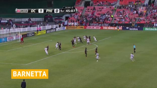 Video «Barnettas Traumfreistoss für Philadelphia» abspielen