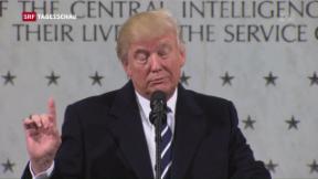 Video «Trumps Kleinkrieg mit den Medien» abspielen