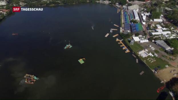 Video «Olympisches Segeln im Dreck» abspielen