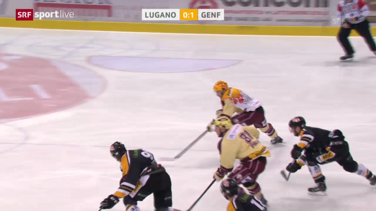 Eishockey: Genfs Tore in Spiel 4 («sportlive», 18.3.14)