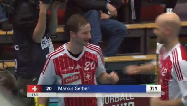 Unihockey-WM: Highlights Viertelfinal Schweiz - Norwegen («sportlive»)