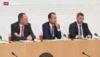 Video «Wirtschaftsallianz von CVP, FDP und SVP» abspielen