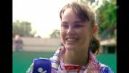 Video «Porträt über die Nachwuchshoffnung Martina Hingis («10vor10» vom 1.6.1994)» abspielen