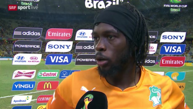 Video «Fussball: Interview mit Gervinho» abspielen
