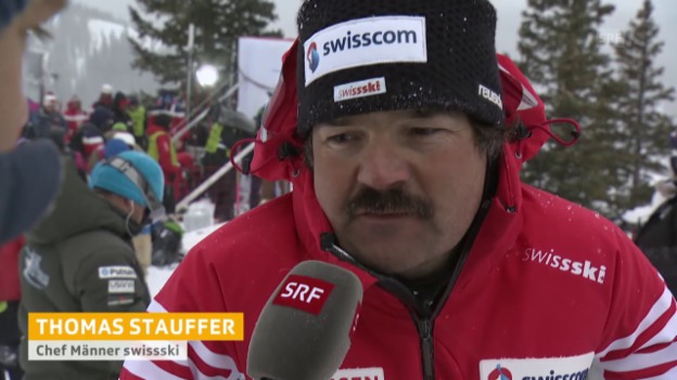Video «Ski: WM in Vail/Beaver Creek, Interview mit Thomas Stauffer» abspielen