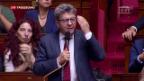 Video «Ex-Kandidat Mélenchon wittert Komplott» abspielen
