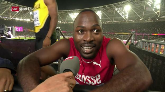Video «Wilson: «Ich konnte meinen Lauf nicht bringen»» abspielen