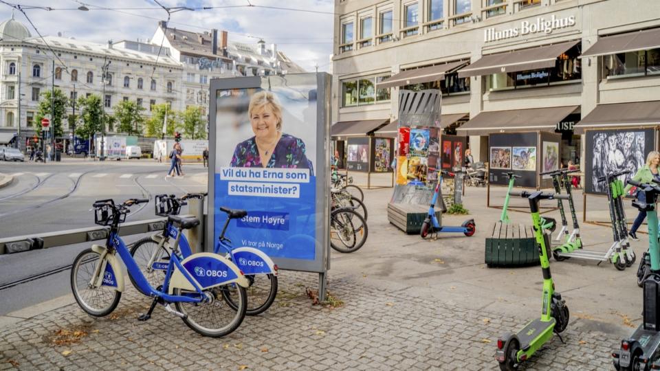 Norwegens Ministerpräsidentin Erna Solberg bangt um Wiederwahl