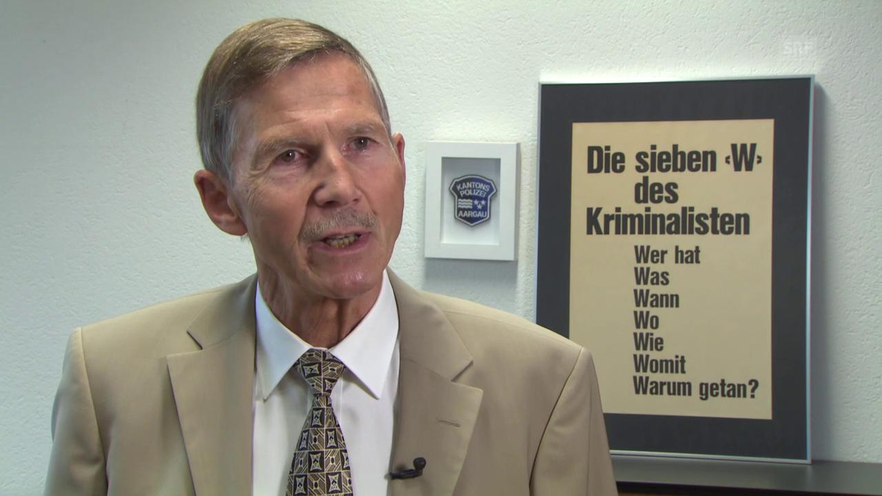 Urs Winzenried, Ex-Kripochef: «Für die Dreharbeiten wurden die Bäume herbstlich gefärbt.»