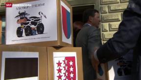 Video ««Milchkuh-Initiative» fällt im Parlament durch» abspielen