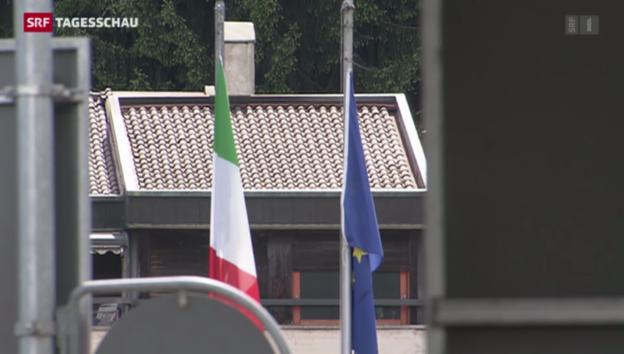 Video «Finanzministerin auf Besuch im Tessin» abspielen