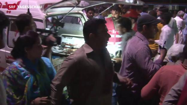 Video «Verheerender Anschlag in Pakistan» abspielen