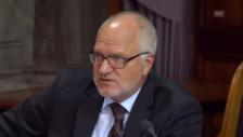 Video «Georges Theiler (FDP/LU) ist gegen neue Lasten für die Wirtschaft» abspielen
